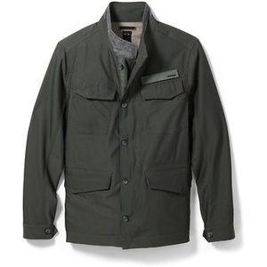 Oakley Jacket Sporty Jacket Green Zip-up Large Men